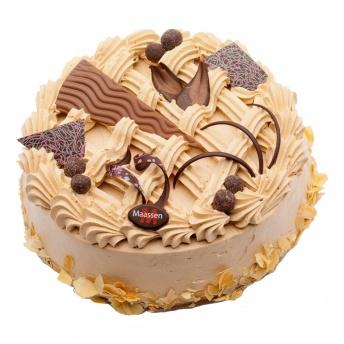 Mokka cake taart