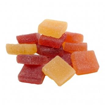 Vruchten blokjes 250 gram