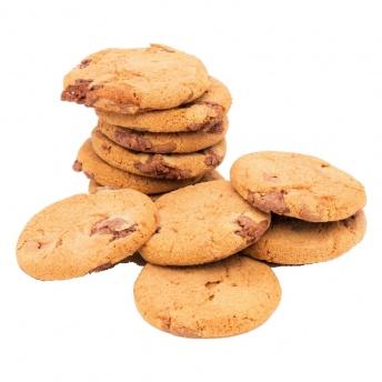 Chocolade koekjes per 100 gram